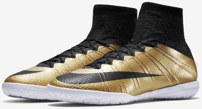 gold nike mercurial x proximo boots