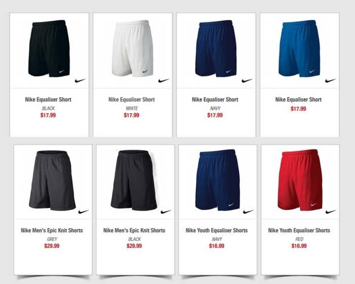 Soccer Shorts